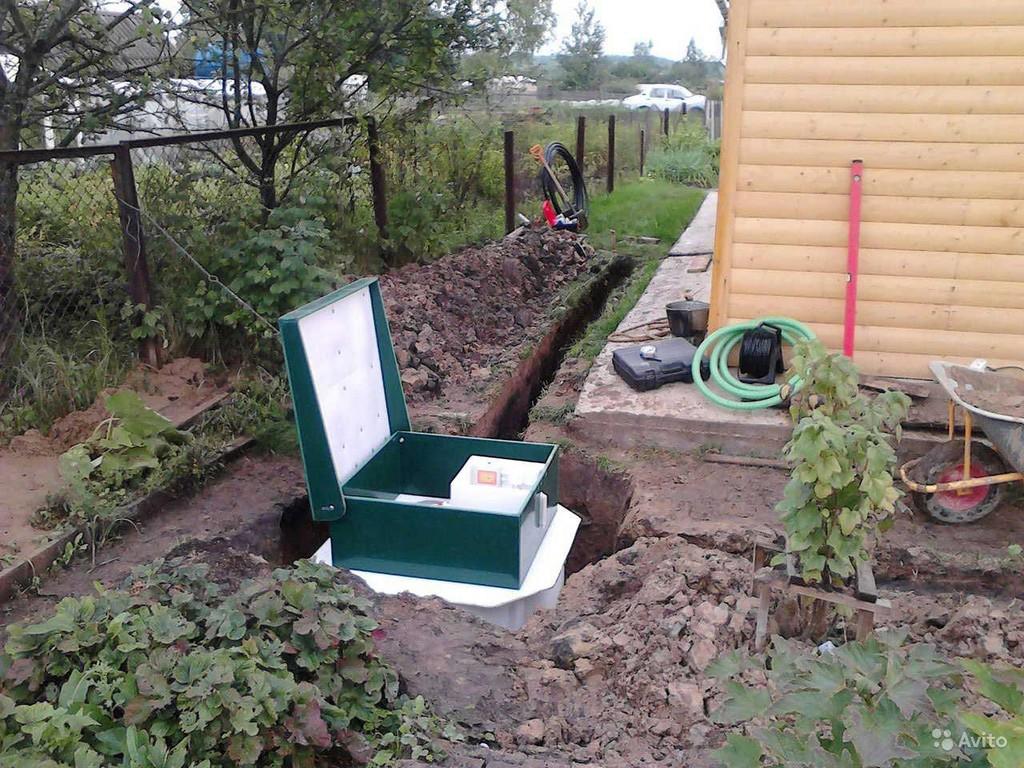 Дачный туалет с близкими грунтовыми водами. Строительные 66